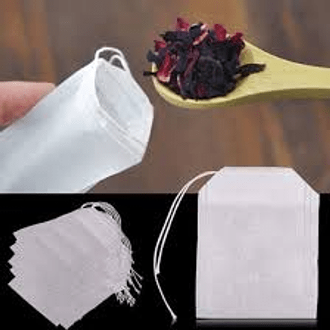 Bolsitas para té o flores secas. Reutilizables y biodegradables !!!