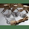 Frasquitos aromatizadores con colgador