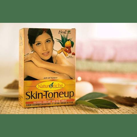 Skin tone up polvos ayurvédicos para mejorar la piel 100 grs
