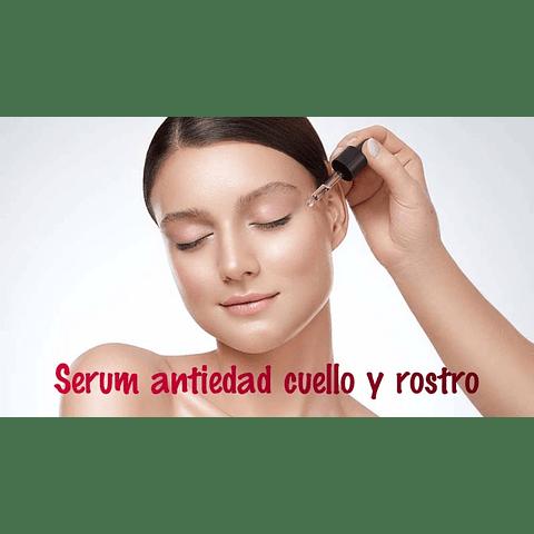 Serum Antiedad cuello y rostro 30ml