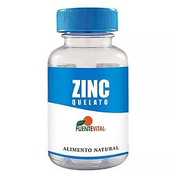 Zinc Quelato cápsula vegetal