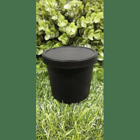 Envase Pet negro 120 grs Apróx