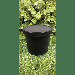 Envase Pet negro 200 grs Apróx