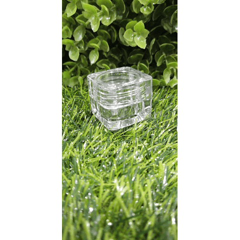 Envase 5 grs transparente