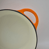 Olla redonda Ø21 cm 3 Lts Topaze Orange