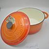Olla redonda Ø26cm 5 Lts Topaze Orange