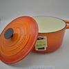 Olla redonda Ø24cm 4 Lts Topaze Orange