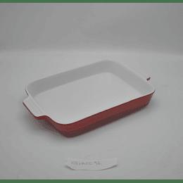 Fuente rectangular Cerámica