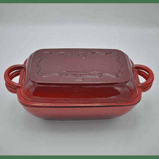 Olla romana 19 x 15 cm 3 Lts Roja