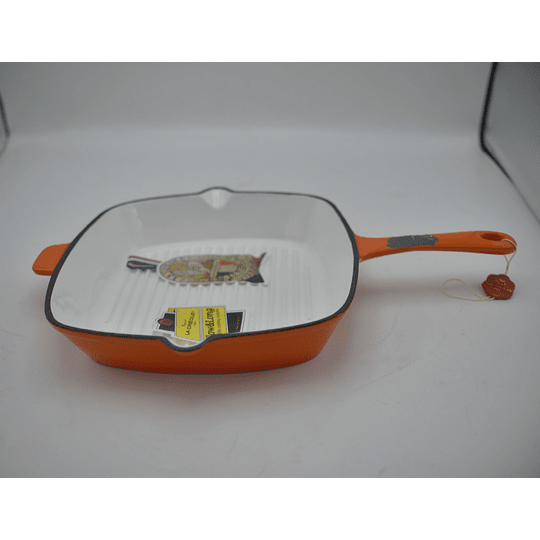 Sartén Grill 26 x 26cm Topaze Orange