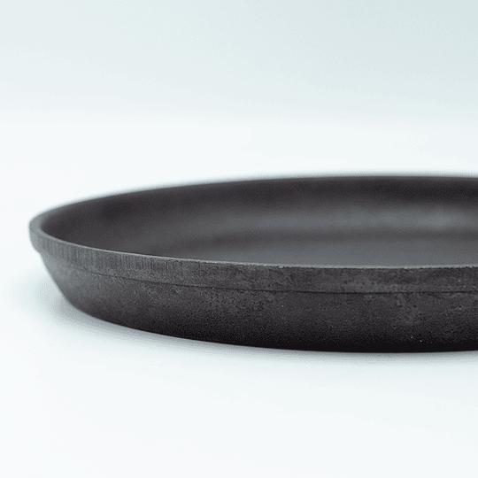 Plato Para Servir con base de madera
