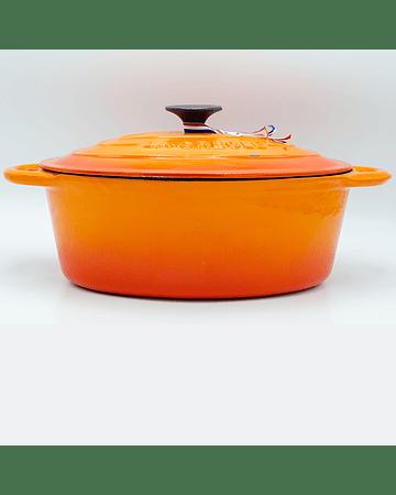 Cocotte ovalada 4 Lts naranja marroquí