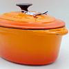 Olla ovalada Ø29 cm 4 Lts Topaze Orange