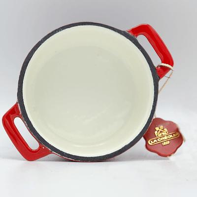 Mini cocotte rojo ausonia