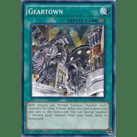 Geartown -sdgr-en021- Common 1st Edition