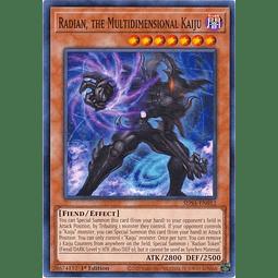 Radian, the Multidimensional Kaiju - SDSA-EN012 - Common 1st Edition