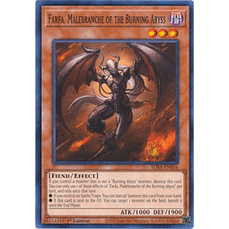Farfa, Malebranche of the Burning Abyss - SDSA-EN016 - Common 1st Edition