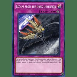 Escape from the Dark Dimension - SDSA-EN036 - Common 1st Edition