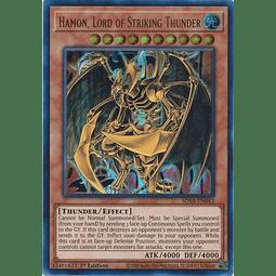 Hamon, Lord of Striking Thunder - SDSA-EN043 - Ultra Rare 1st Edition