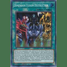 Dimension Fusion Destruction - SDSA-EN046 - Super Rare 1st Edition