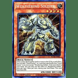 Weathering Soldier - BLAR-EN005 - Secret Rare 1st Edition