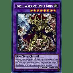 Fossil Warrior Skull King - BLAR-EN006 - Secret Rare 1st Edition