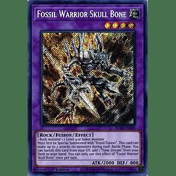 Fossil Warrior Skull Bone - BLAR-EN008 - Secret Rare 1st Edition