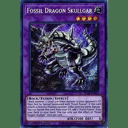 Fossil Dragon Skullgar - BLAR-EN010 - Secret Rare 1st Edition