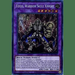Fossil Warrior Skull Knight - BLAR-EN007 - Secret Rare 1st Edition