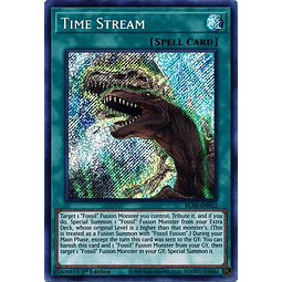 Time Stream - BLAR-EN012 - Secret Rare 1st Edition