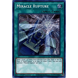 Miracle Rupture - BLAR-EN014 - Secret Rare 1st Edition