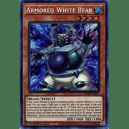 Armored White Bear - BLAR-EN016 - Secret Rare 1st Edition