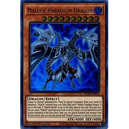 Malefic Paradigm Dragon - BLAR-EN019 - Ultra Rare 1st Edition