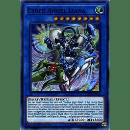 Cyber Angel Izana - LED4-EN012 - Super Rare 1st Edition
