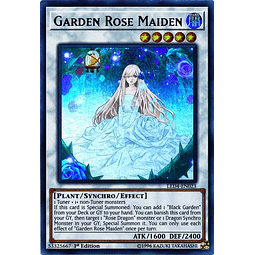 Garden Rose Maiden - LED4-EN023 - Ultra Rare 1st Edition