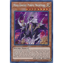 Mekk-Knight Purple Nightfall - EXFO-EN020 - Secret Rare 1st Edition
