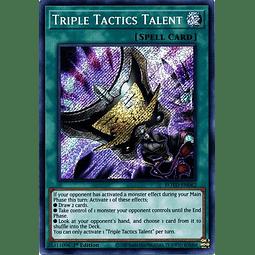 Triple Tactics Talent - ROTD-EN062 - Secret Rare 1st Edition