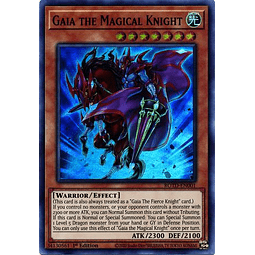 Gaia the Magical Knight - ROTD-EN001 - Super Rare 1st Edition