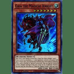 Gaia the Magical Knight - ROTD-EN001 - Super Rare 1st Edition