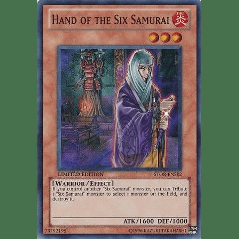 Hand Of The Six Samurai -stor-ense2- Super Rare