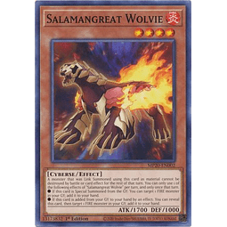 Salamangreat Wolvie - MP20-EN002 - Common 1st Edition