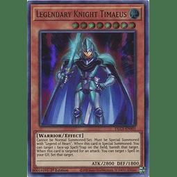 Legendary Knight Timaeus - DLCS-EN001 - Ultra Rare 1st Edition