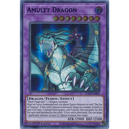 Amulet Dragon - DLCS-EN005 - Ultra Rare 1st Edition
