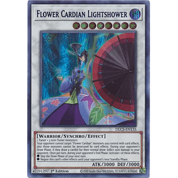 Flower Cardian Lightshower (Purple) - DLCS-EN135 - Ultra Rare 1st Edition