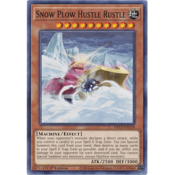 Snow Plow Hustle Rustle - DLCS-EN138 - Common 1st Edition
