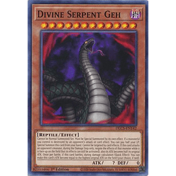 Divine Serpent Geh - DLCS-EN142 - Common 1st Edition