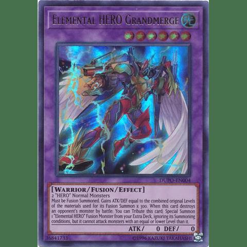 Elemental HERO Grandmerge - DUPO-EN004 - Ultra Rare Unlimited