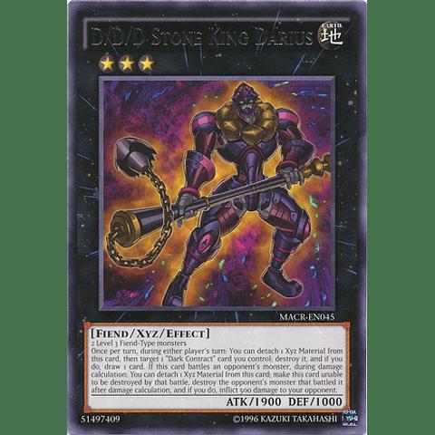 D/D/D Stone King Darius - MACR-EN045 - Rare Unlimited