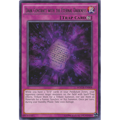 Dark Contract with the Eternal Darkness - MACR-EN068 - Rare Unlimited
