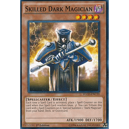 Skilled Dark Magician - YGLD-ENC19 - Common 1st Edition